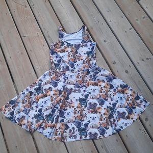 Dog lover's dress